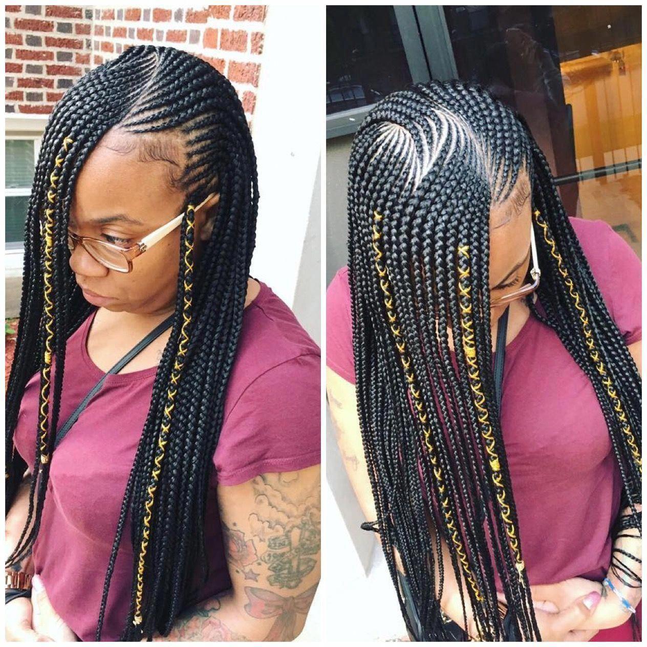 Trendy braided hairstyles for black women # ...