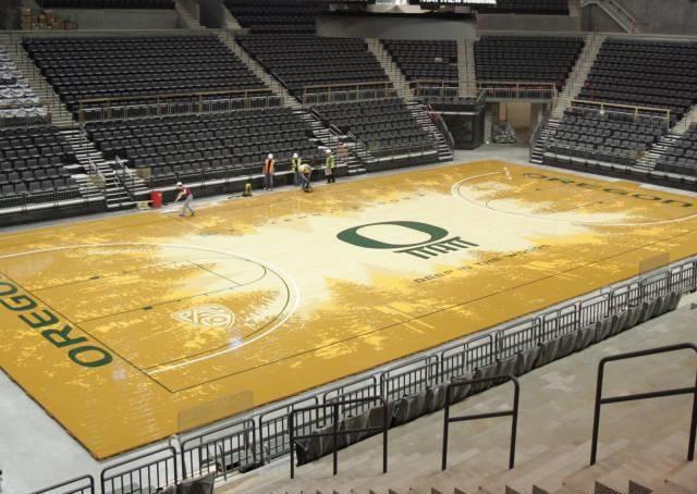 Oregon Basketball Court | Bball Courts/stadiums ...