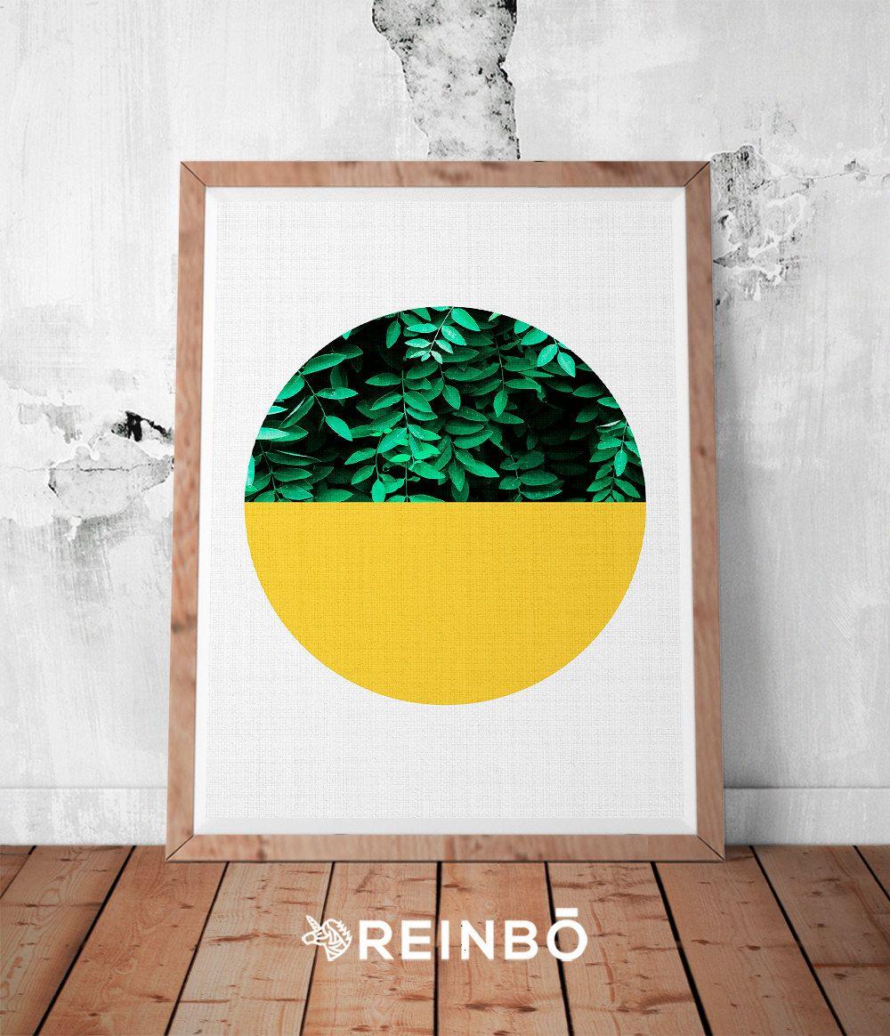 Printable Wall Art, Tropical Leaf Print, Tropical Art, Plant Print ...