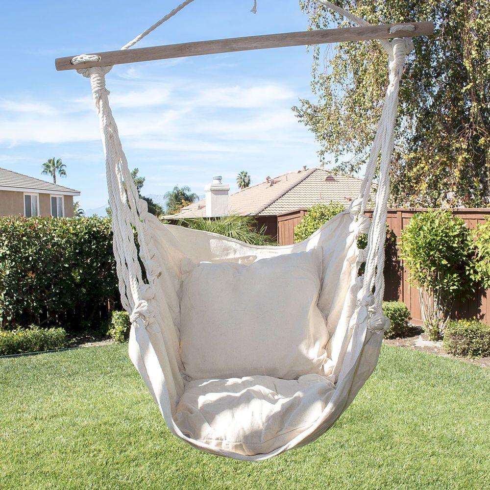 Hammock Hanging Chair Outdoor Indoor 330lb Air Deluxe Sky