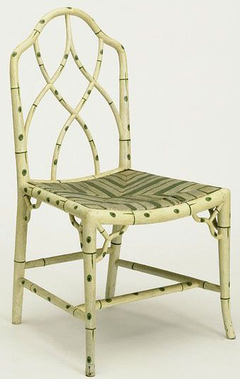 This Chair Was One Of A Set Made By Thomas Chippendale In About 1768