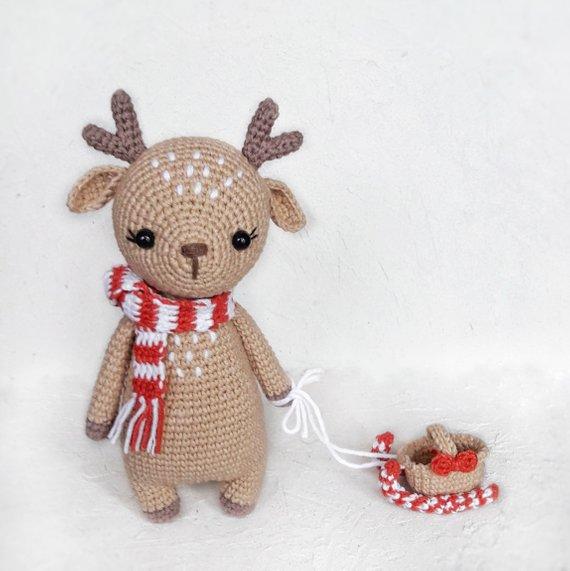 Amigurumi deer pattern. | 571x570