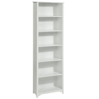 Home Decorators Collection Oxford 24 In White 6 Shelf Open Bookcase 2877425410 At The Depot