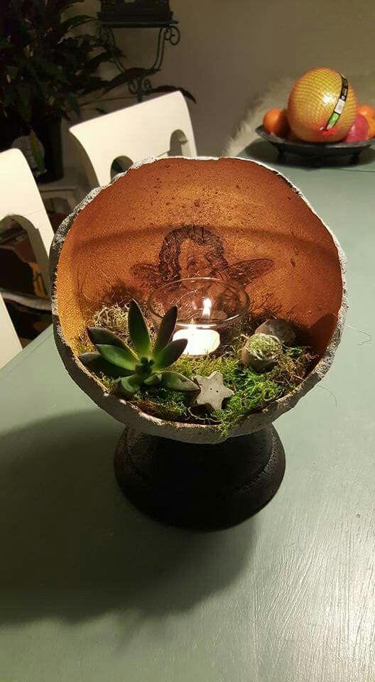 Beton Weihnachtsdeko.Weihnachtsdeko Without The Candle Arts Crafts Clay Beton