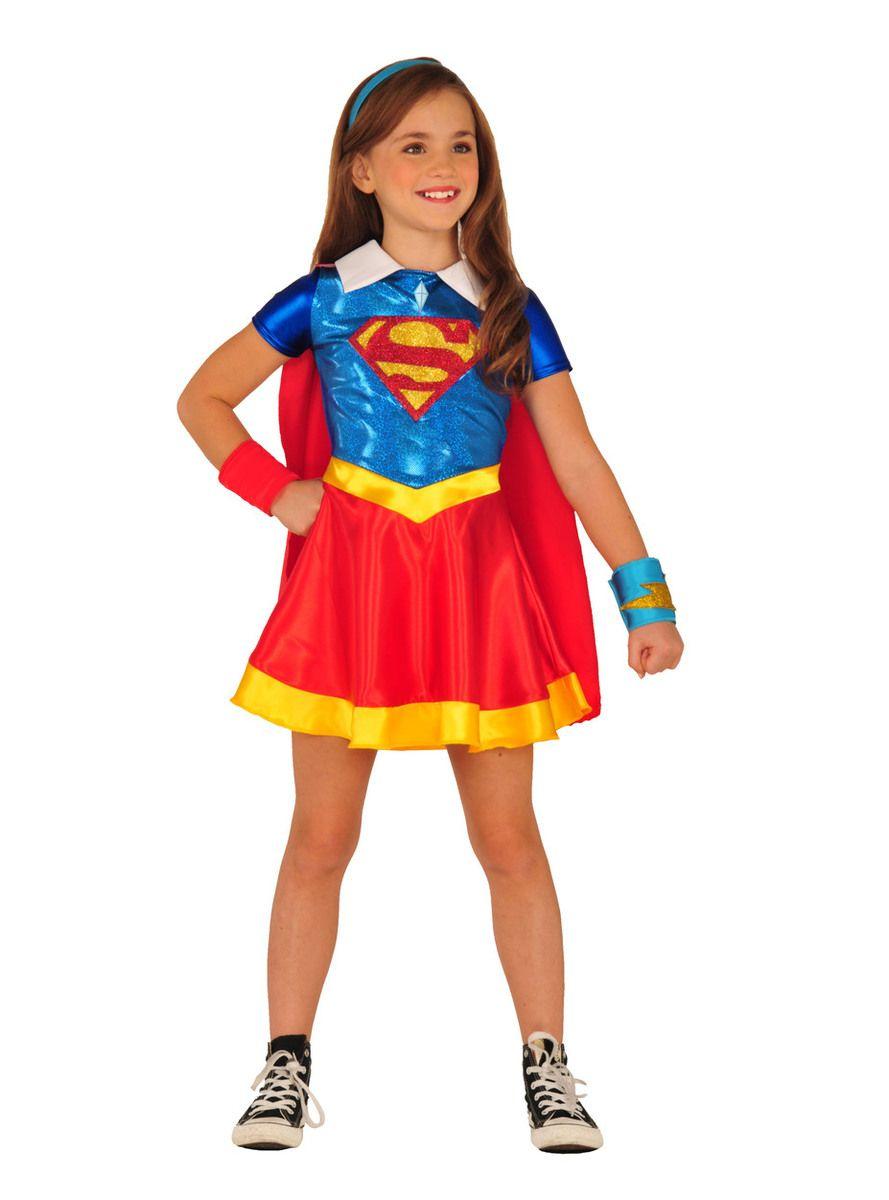Rubie`s Costume Kids DC Superhero Girls Deluxe Supergirl Costume Small