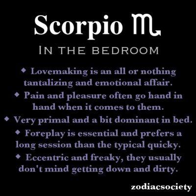 Scorpio Man Scorpio Woman In Bed