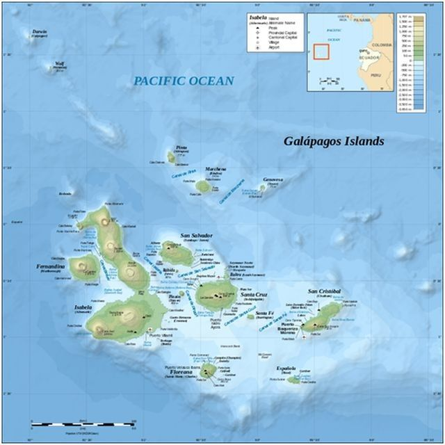The Best Expedition Cruising in the Galapagos Islands Places I - best of world map with ecuador
