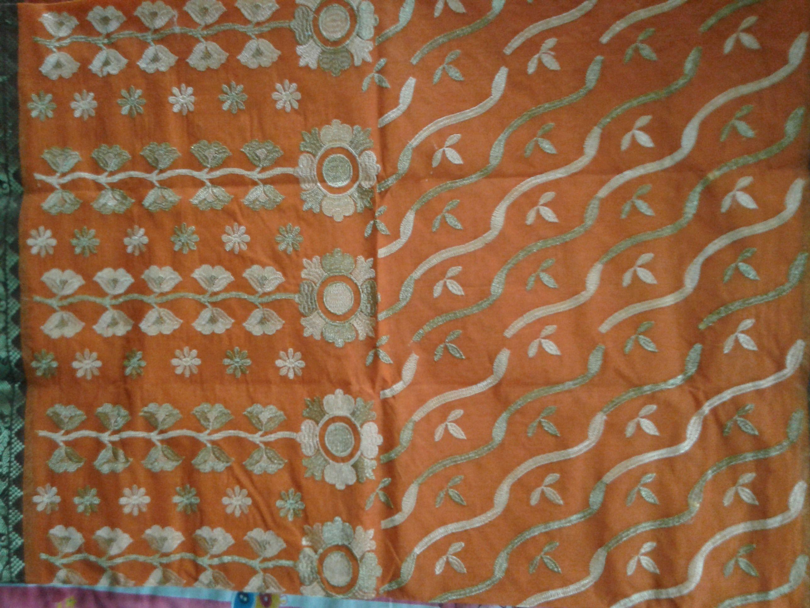 Santipur saree embroidery design saree pinterest saree and embroidery designs santipur saree bankloansurffo Images