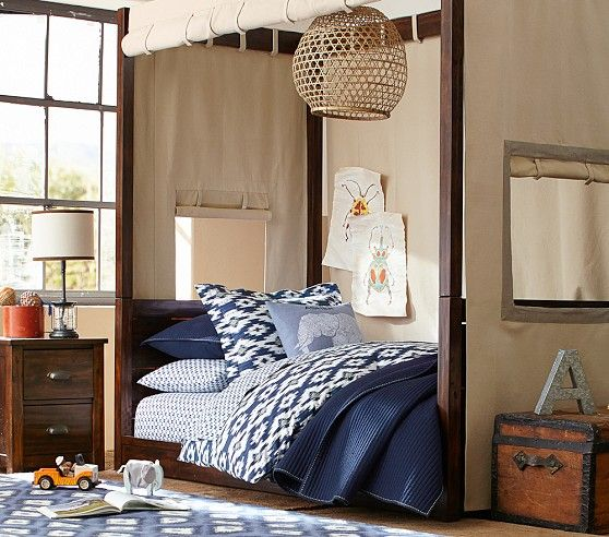 This Canopy Bed Is So Much Fun For A Young Boy Sawyer Canopy Bed