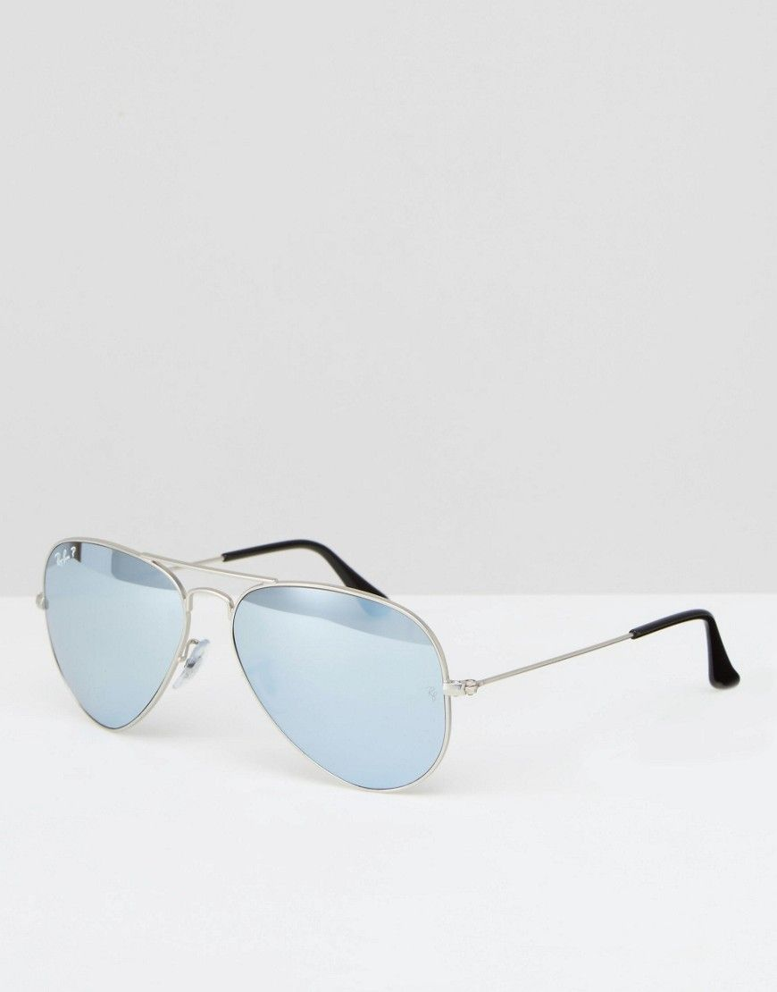 ray ban sunglasses outlet  Ray-Ban+Metal+Aviator+with+Silver+Flash+Lens
