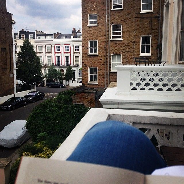 Last day in London...chilling on the terrace #notlookingforwardtowinterdays by susake