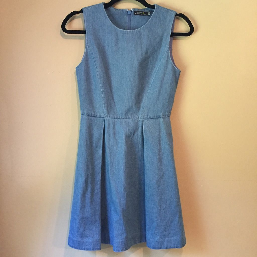 Kate Spade Saturday Chambray Skater Dress