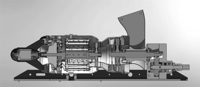 gas turbine drawing - Google Search