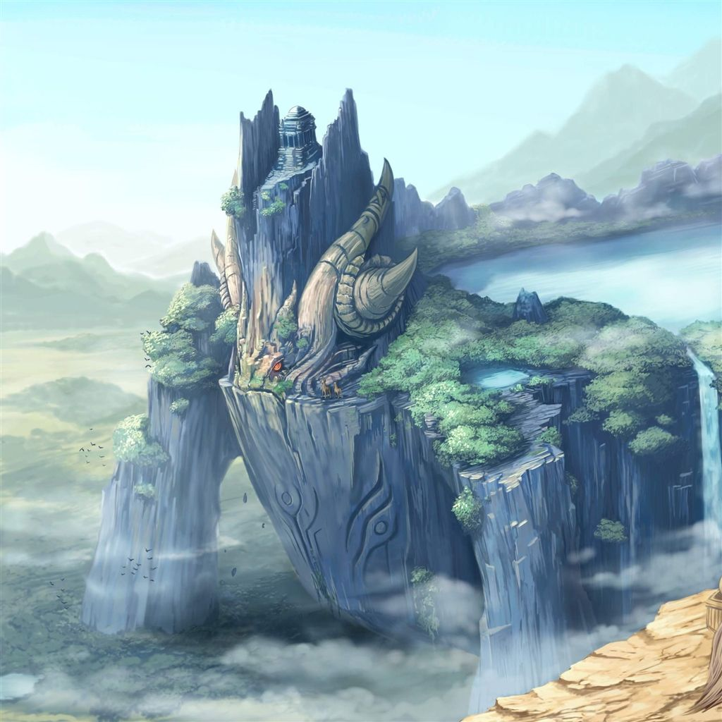 Sea Dragon iPad Wallpaper