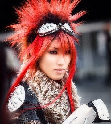 Anime Hairstyles In Real Life Harajuku Hair Harajuku Girls Japanese Street Fashion