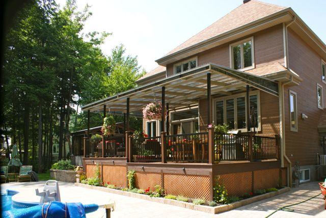 Patio plus patios c dre exterieur pinterest for Galerie et patio