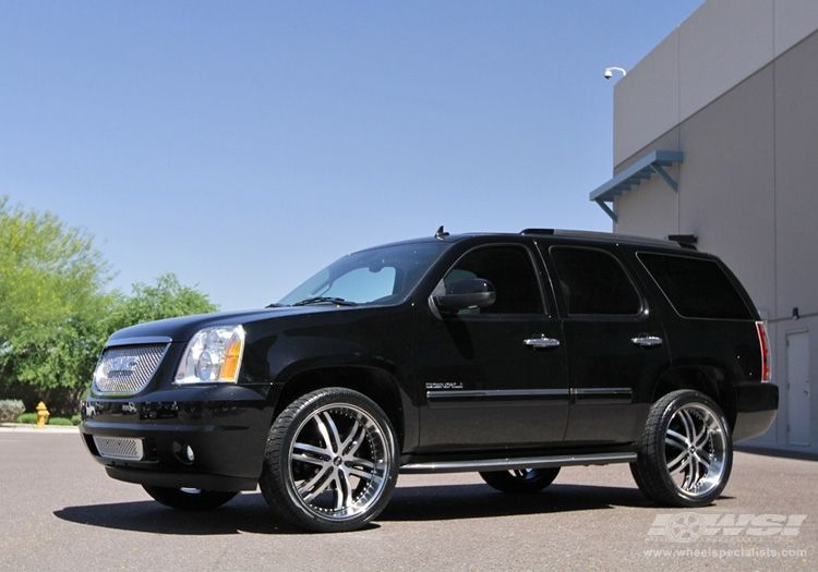 Yukon Denali Rims Gmc Yukon Denali With 24 Avenue A607 In