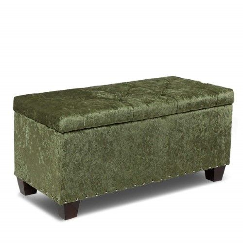 Incredible Magshion Rectangular Storage Ottoman Bench Tufted Footrest Short Links Chair Design For Home Short Linksinfo