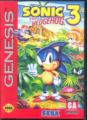 Sonic The Hedgehog 3 On Sega Genesis Video Games Pinterest