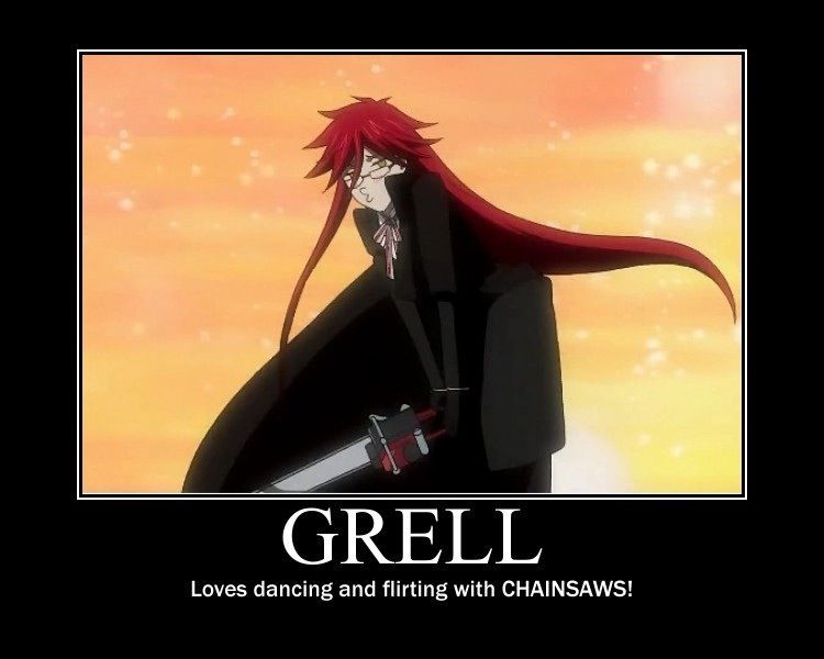 Black Butler ~~~ Grell Sutcliff - Definitely one of my all times favorites!