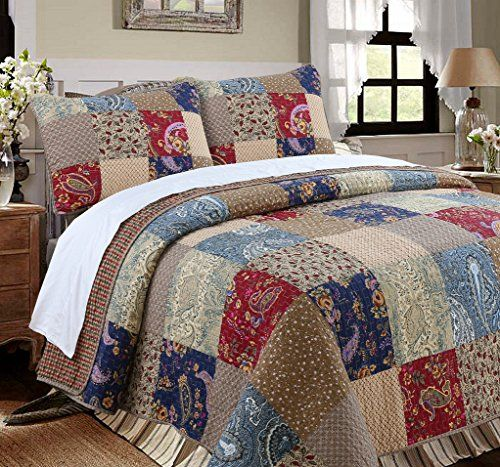 Patchwork Quilt Bedding Sets.Gorgeous Patchwork Quilt Sets For Country Traditional