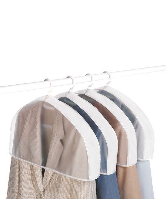 Hanger Shoulder Cover Set Of Four Garment Care