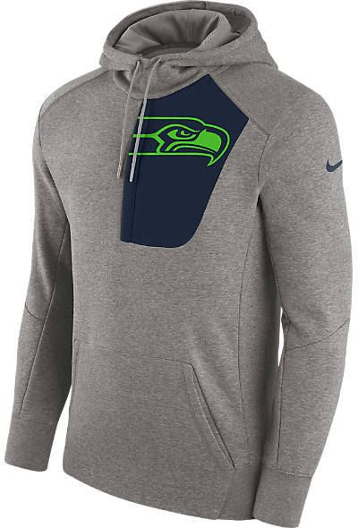 10acbe343 Men s Nike Seattle Seahawks NFL Fly Fleece Hoodie