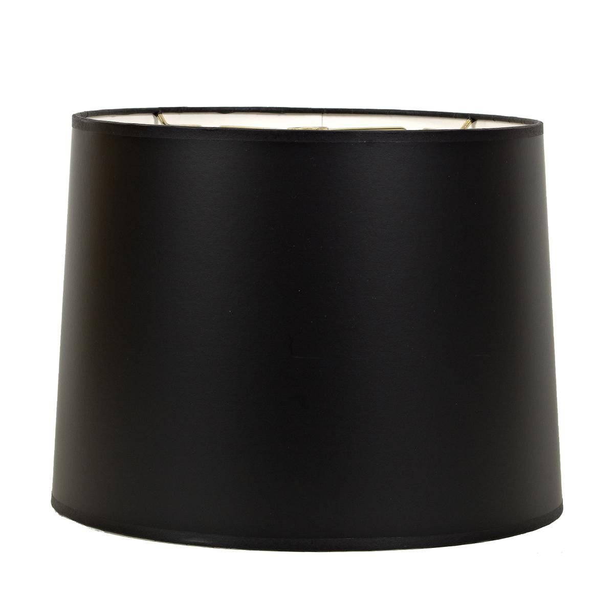 12 Black Paper Drum Shade Lamp Shade Drum Lampshade Rustic Lamp Shades