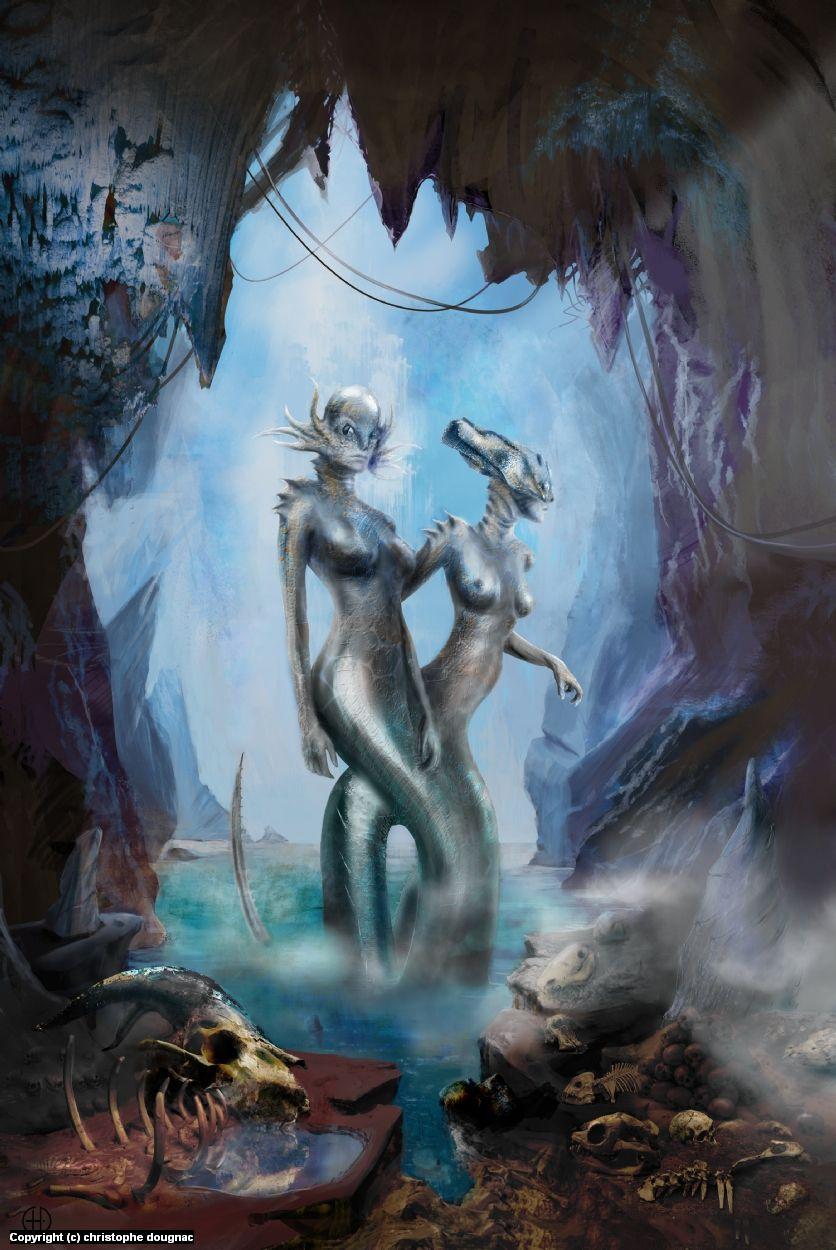 Uncategorized Echidna Greek Mythology echidna by christophe dougnac in greek mythology greek