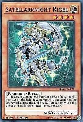 Original KONAMI Yu-Gi-Oh! Trading Card aus Secrets of Eternity  SECE-EN025  Satellarknight Rigel (Fixsternritter Rigel) Seltenheit: Super Rare - 1st Edition  GBA-Code: 13851202 | Jetzt günstig bei eBay kaufen!