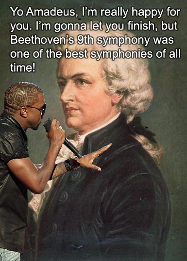 Kanye Interrupts Mozart