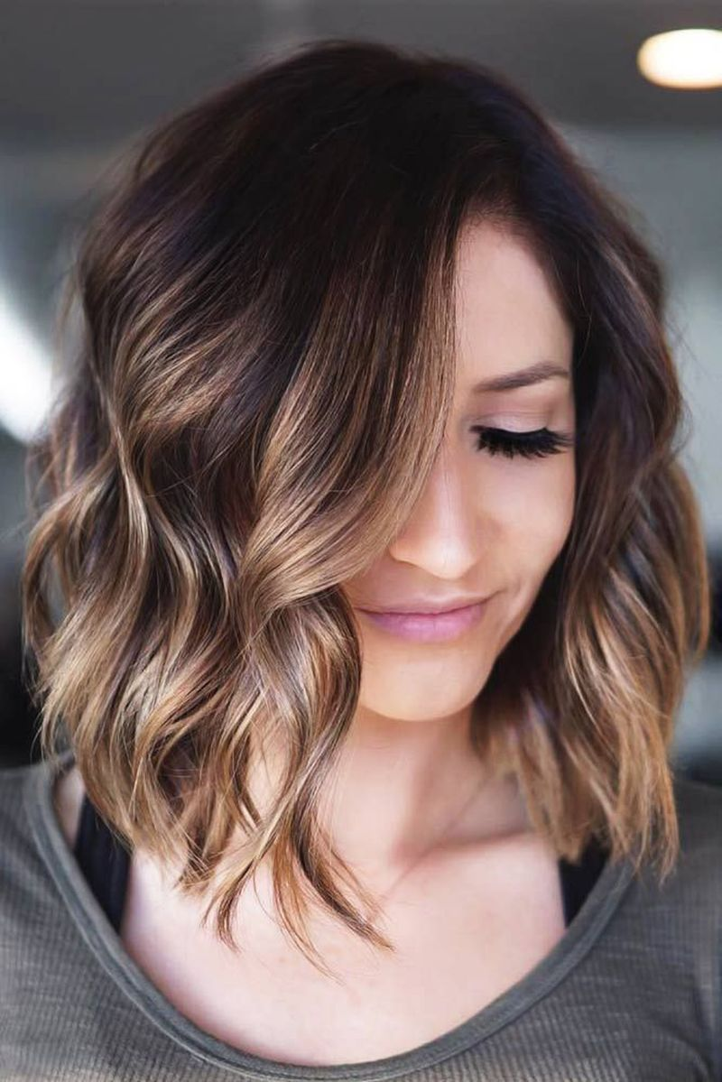 39 Simple Ways To Style Short Hair For Women In 2020 Short Ombre Hair Short Hair Balayage Hair Styles