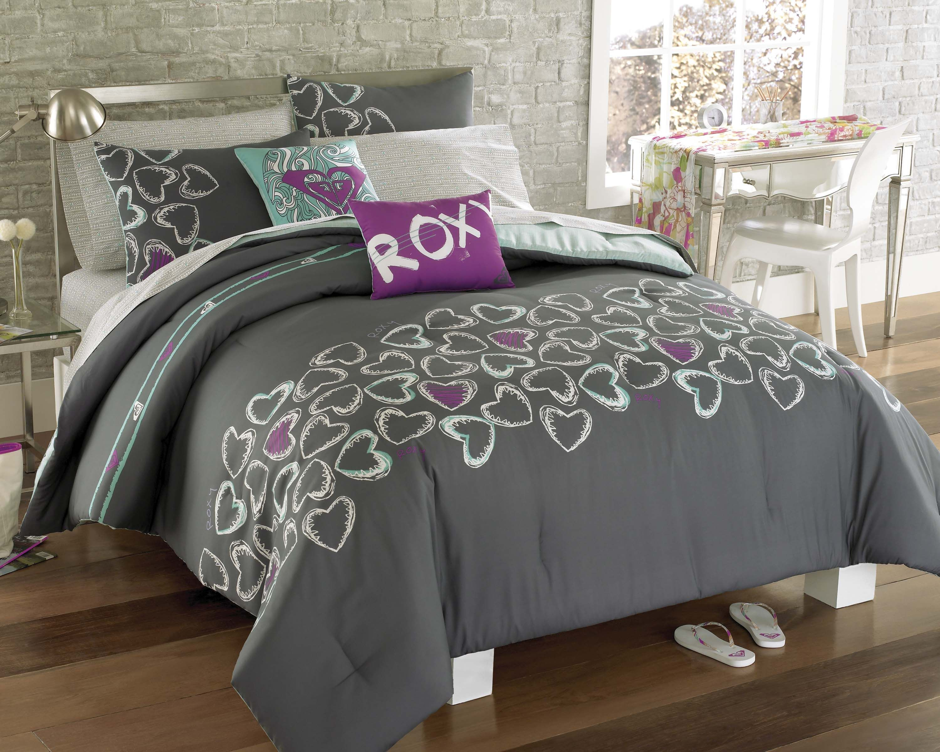 Bedroom Sets For Women full bedding sets for women | roxy heart and soul full bed in a