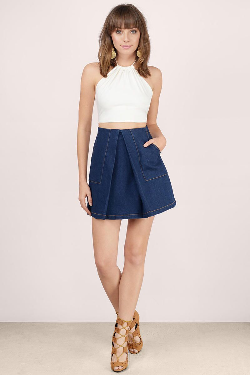 DENIM - Denim skirts Finders Keepers Low Shipping Sale Online Fashionable Cheap Price With Credit Card Cheap Price Buy Cheap 2018 Unisex Latest Collections WtrCPiWMkS