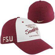 815a1b60e Nike Florida State Seminoles (FSU) Local Fan Heritage 86 Flex Hat - Garnet