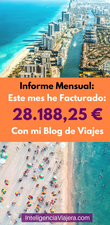 Este Mes He Facturado 28 188 25 Con El Blog Blog Viajes Viajar En Pareja Viajar Por El Mundo