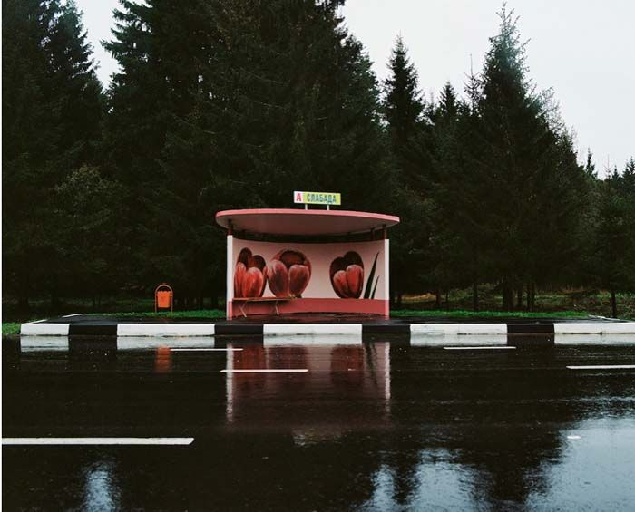 Poppytalk: The Bus Stops in Belarus are Beautiful