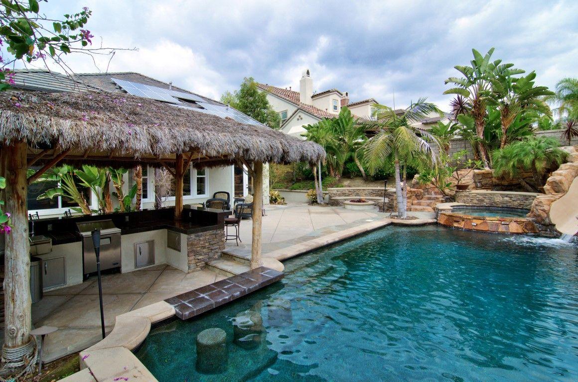 Dream Backyard Pool Oasis Anaheim Hills Homes | Dream ...
