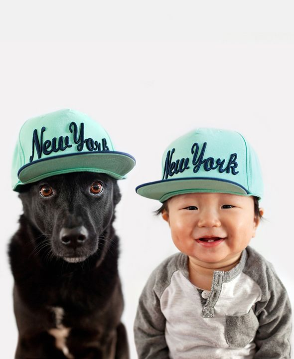 Zoey and Jasper: Unbelivably Cute Portraits of a Rescue Dog and Her Little Boy