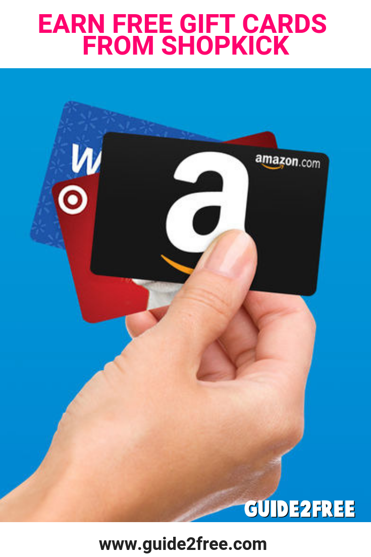 Get FREE Gift Cards from Shopkick! Just download the app for iOS or Android.