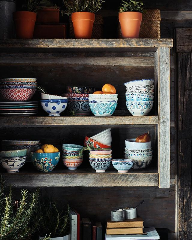 Hippie Kitchen Decor: Reaching For Cereal And The Remote—and Our Favorite Home