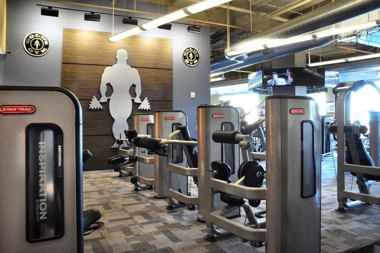 Fitness Center Decor Fabiano Designs Gold S Gym Epicentre
