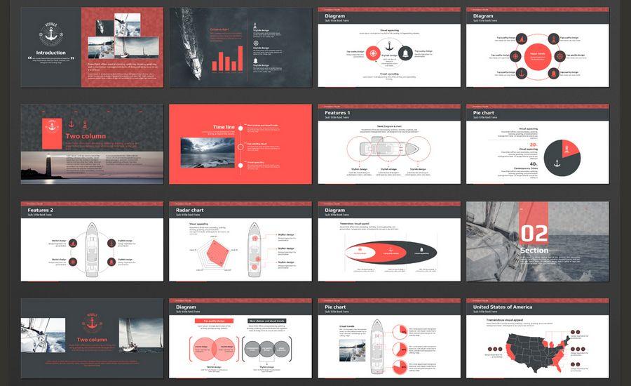 Photo Presentation Templateszip 60 Beautiful Premium Powerpoint