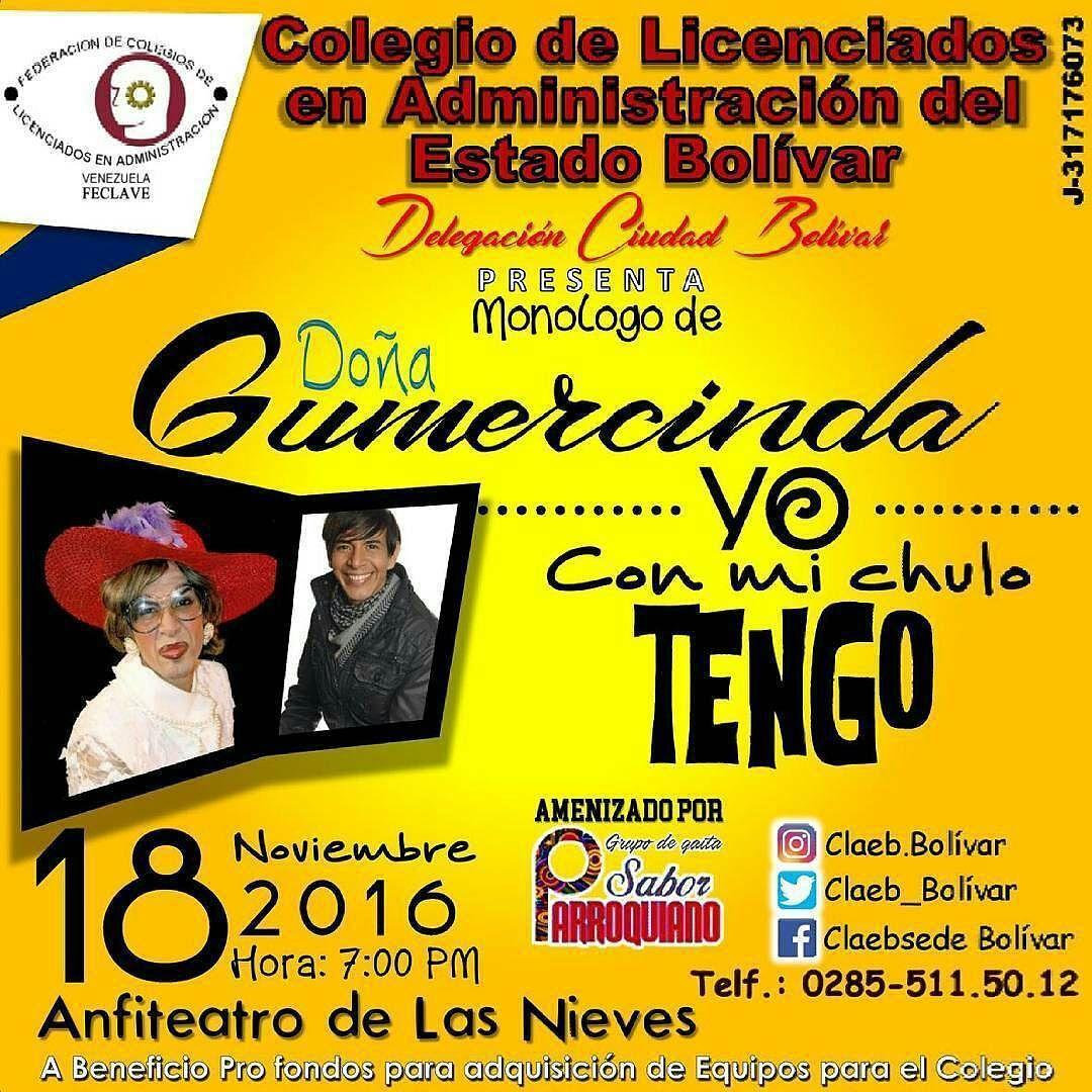 Para mayor información conecten a @waikiriaazocar #CiudadBolivar