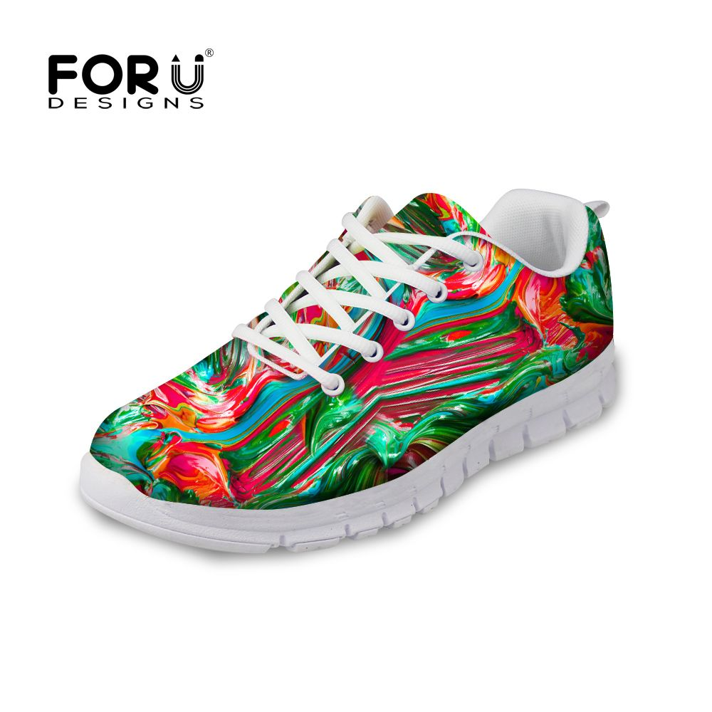 >> Click to Buy << FORUDESIGNS High Quality Men Graffity Painting Printed Casual Shoes Breathable Fashion Male Walking Man Trainers Lace-up Shoes #Affiliate
