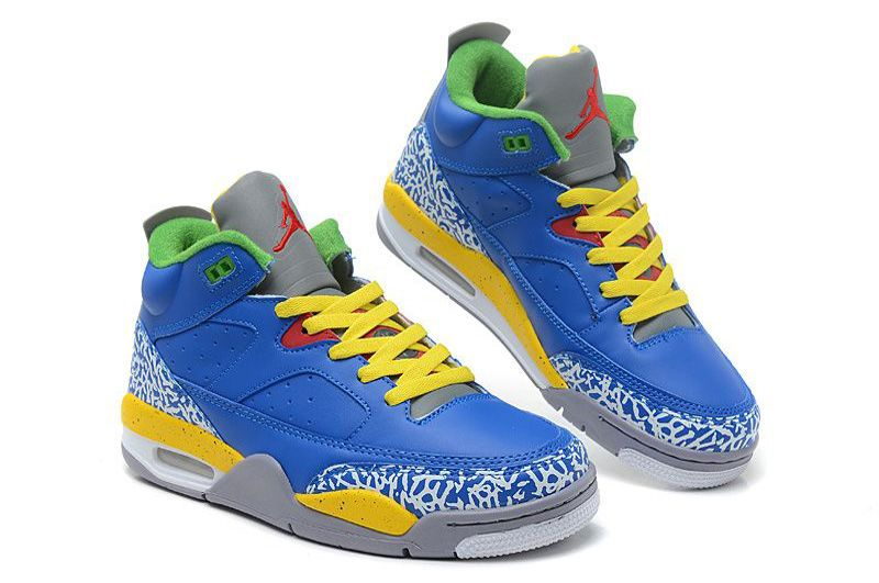 hot sale online 66173 2f138 Buy Air Jordan Son Of Mars Low Shoes Royal Blue Yellow