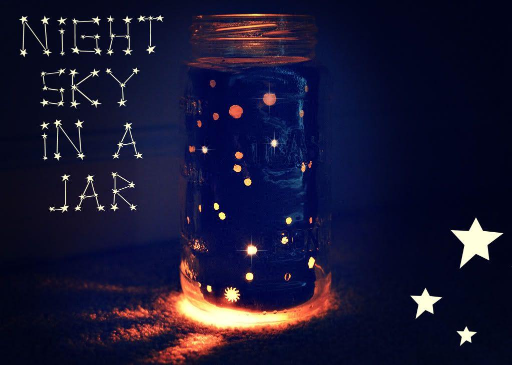 Mason Jar Night Light Kids