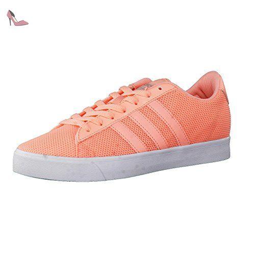 adidas cF Daily QT W Baskets mode pour femmes, Rose–(corneb/corneb/plamat) 38