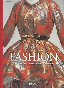 This book is so incredibly fun. With large photos, The Kyoto Institute provides a glimpse into their beautifully preserved traveling fashion 'library'.  Fashion: A History from The 18th 20th Century Kyoto Institute