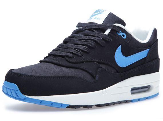 nike air max 1 black blue camo